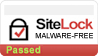 Sitelock badge - malware free site
